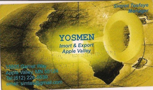 Yosmen Import & Export