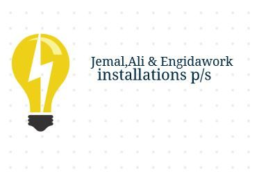 Jemal Ali and Engidawork Electrical Installtion PS | ጀማል አሊ እና እንግዳወርቅ ኤሌክትሪክ ኢንስታሌሽን ህ.ሽ.ማ
