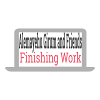 Alemayehu, Girum and Friends Finishing Work | አለማየሁ፣ ግሩም እና ጓደኞቻቸው የፊኒሺንግ ስራ