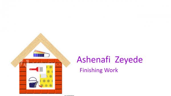 Ashenafi Zeyede Finishing Work | አሸናፊ ዘየደ የህንፃ ማጠናቀቅ ሥራ