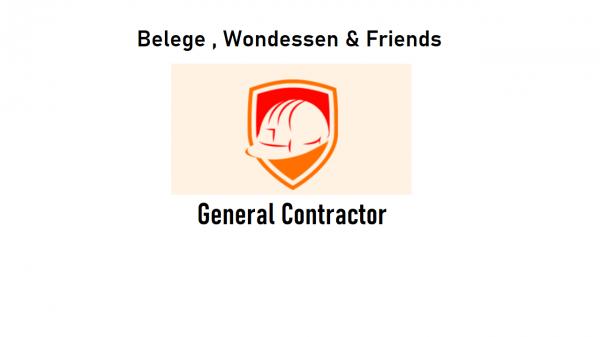 Belege, Wondessen and Friends General Construction PS