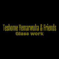 Teshome, Yemarwuha and Friends Glass work  P.S