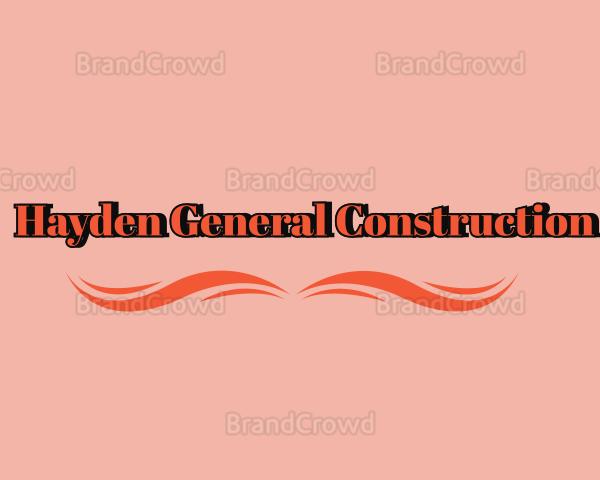 Hayden General Construction /ሃይደን ጠቅላላ ስራ ተቋራጭ