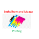 Bethelhem and Meaza Printing