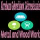 Abreham Gebrehiwot Gebreselassie Metal and Wood Work | አብረሃም ገ/ሂወት ገ/ስላሴ እንጨት እና ብረታ ብረት ስራ
