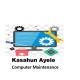 Kasahun Ayele Computer Maintenance | ካሳሁን አየለ የኮምፒዉተር ጥገና እና ኔትወርክ ስራ