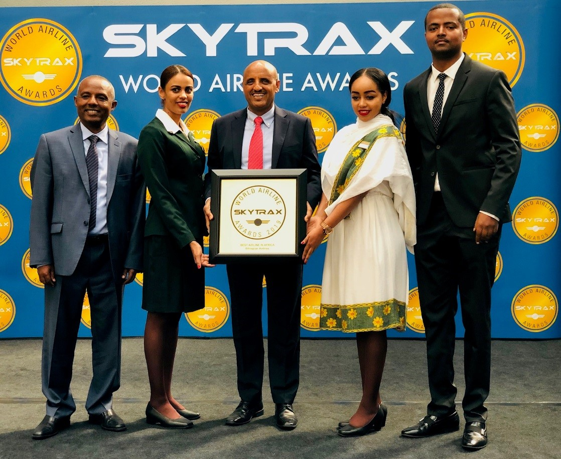 Ethiopian Voted 'Best Airline in Africa' for 3rd Time in a Row